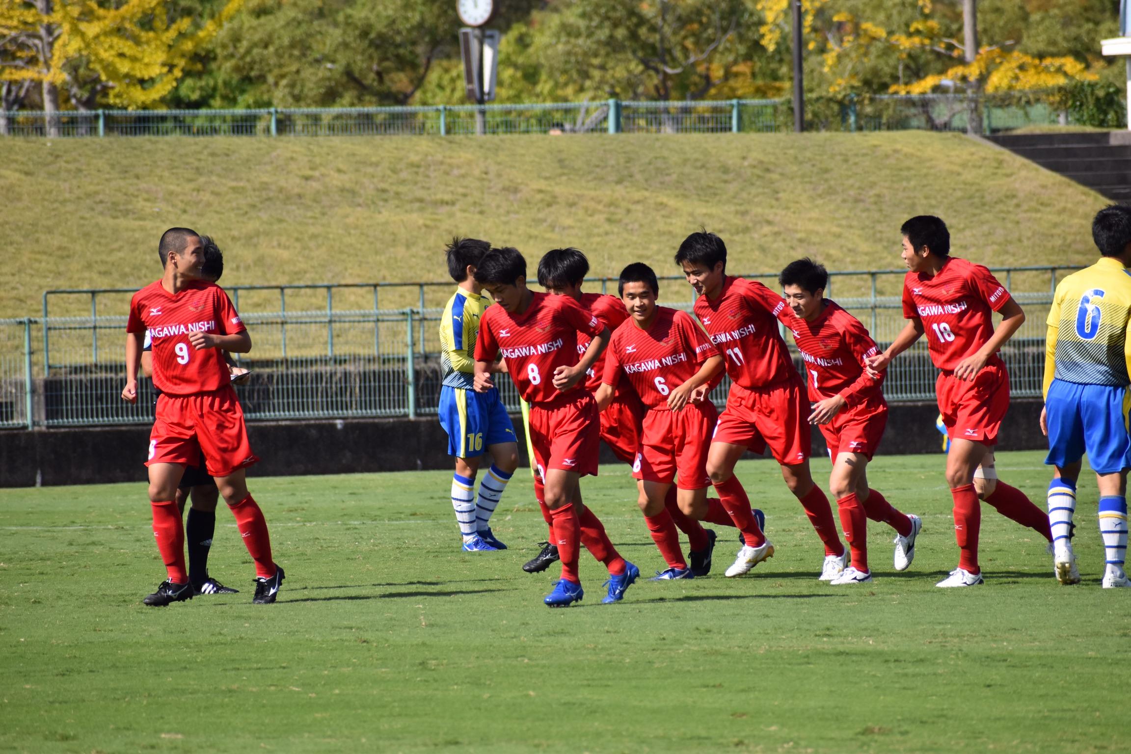 第99回全国高等学校サッカー選手権大会香川県大会 準々決勝