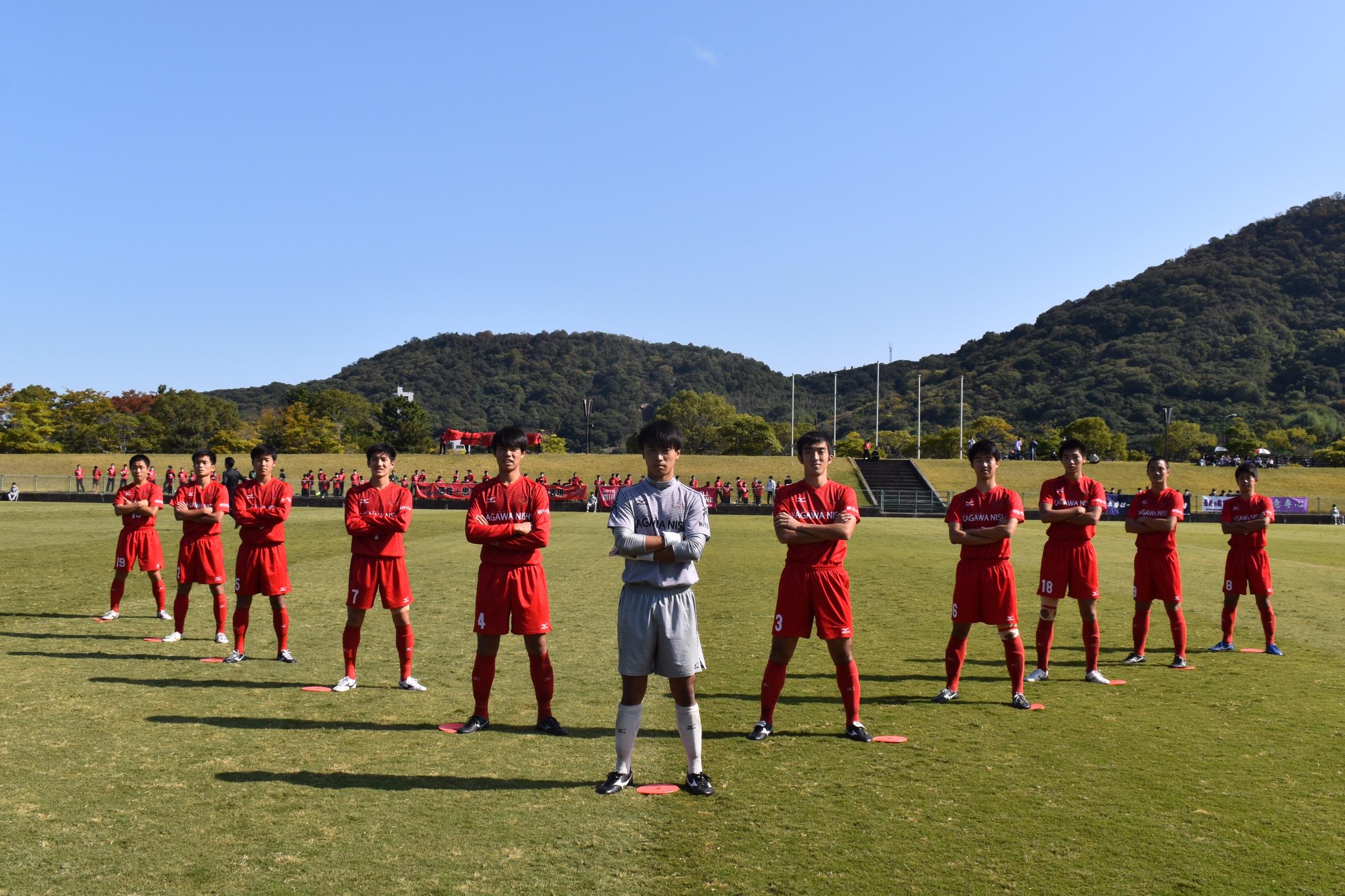 第99回全国高等学校サッカー選手権大会香川県大会 準決勝