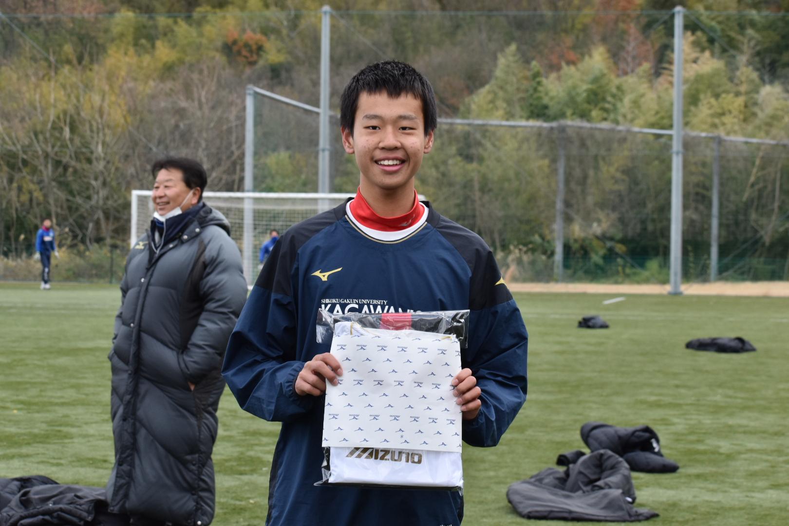 2020年香川西高校サッカー部蹴り納