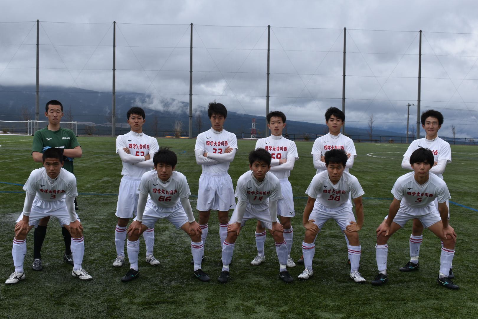 Japan youth PUMA super league フレンドリーマッチ