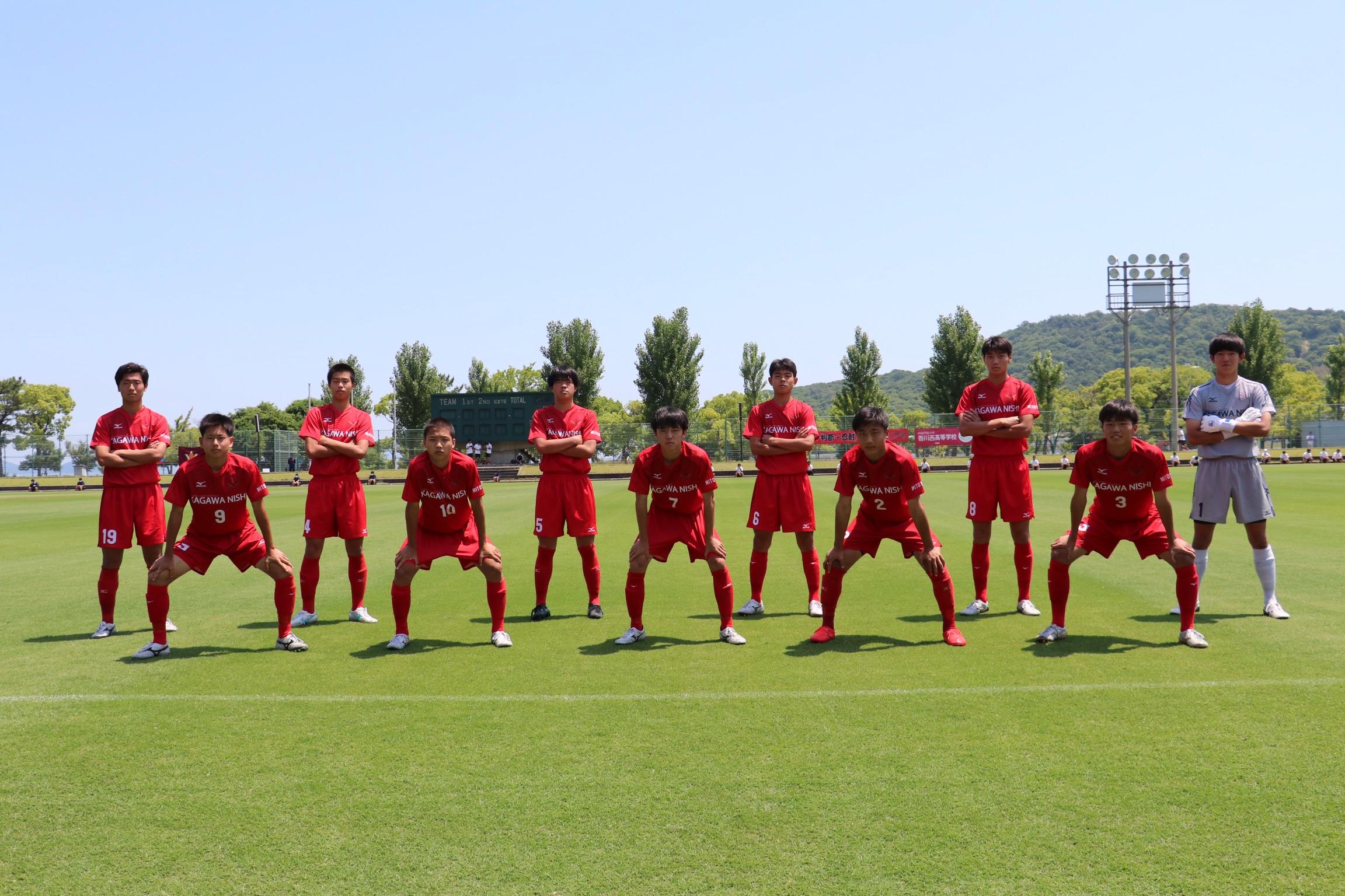 香川県高等学校総合体育大会サッカー競技 2回戦