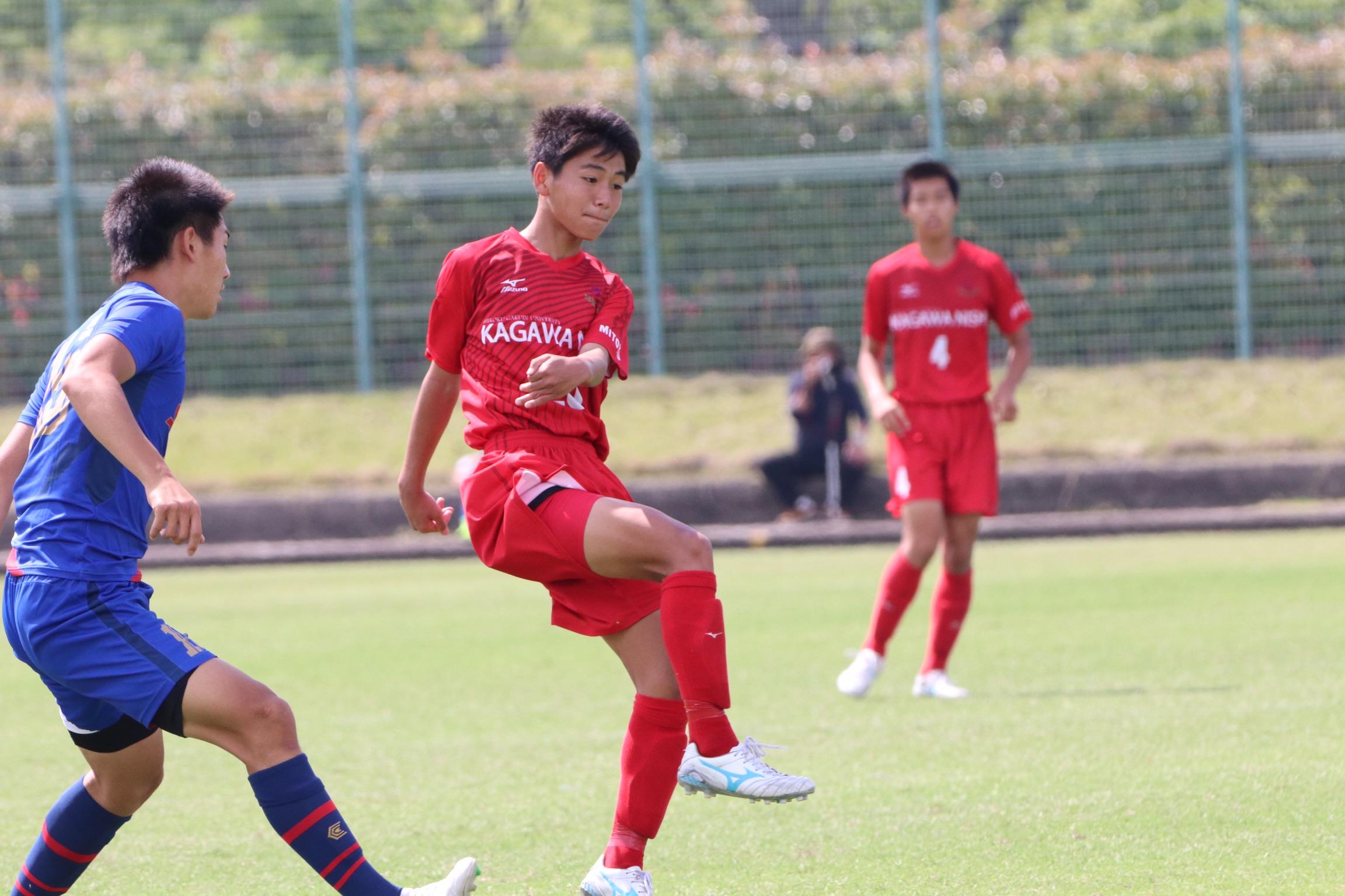 香川県高等学校総合体育大会サッカー競技 準々決勝 フォトギャラリー