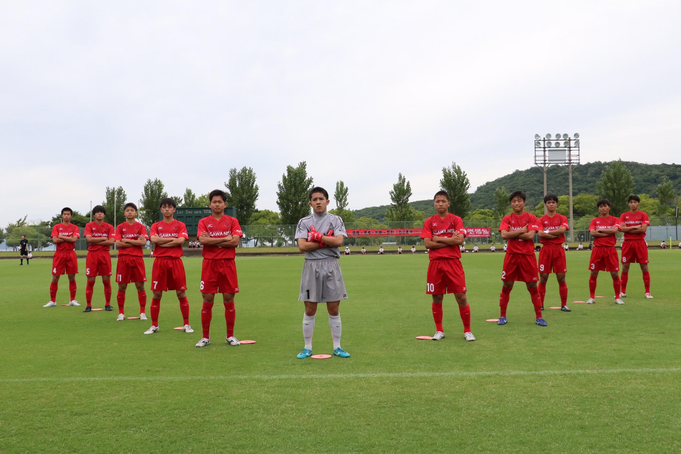 香川県高等学校総合体育大会サッカー競技 3回戦
