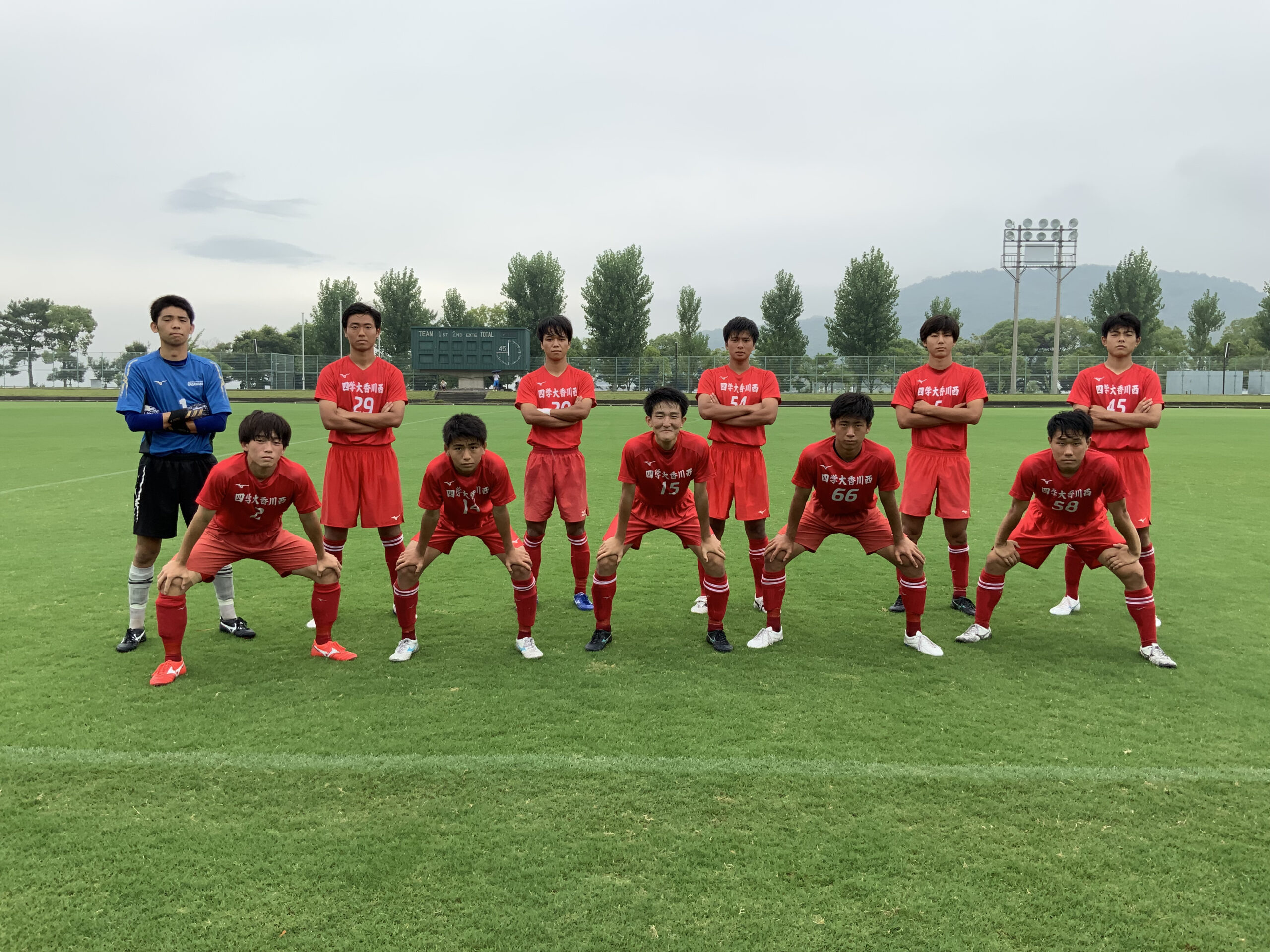 香川県2種リーグ1部 VS高松商業